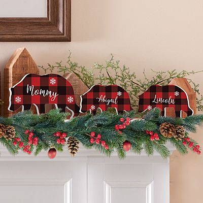 Beary Merry Family  Figurines