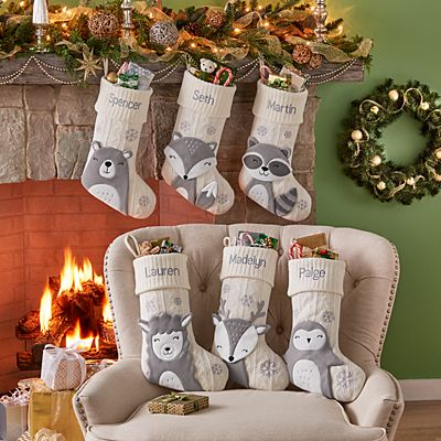 Christmas Critters Stocking