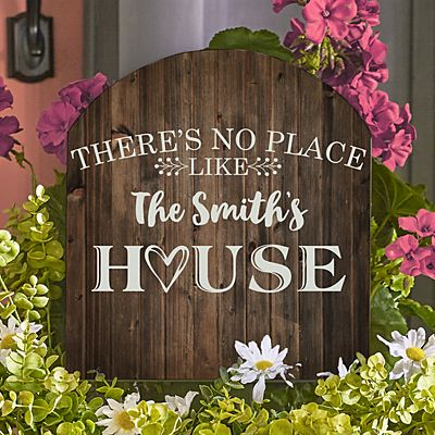 Our Favorite Place Wooden Outdoor Sign