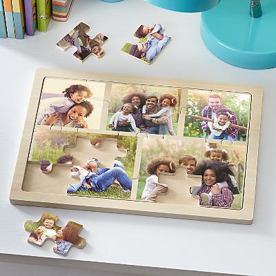 Photo Collage Wooden Puzzle