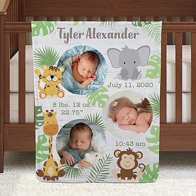 Special Day Photo Baby Blanket