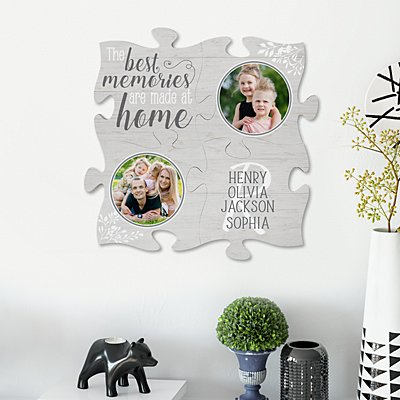 The Best Memories Mini Puzzle 4 Piece Set