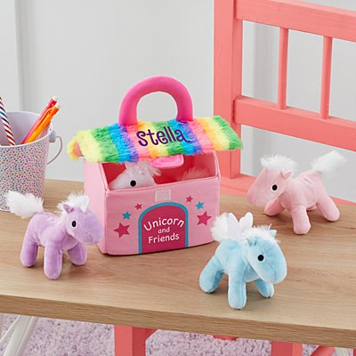 Unicorn & Friends Plush Playset
