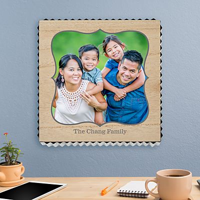 You're My Favorite Photo Metal Edge Wood Wall Art