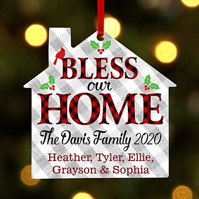 Holiday Blessings House Ornament