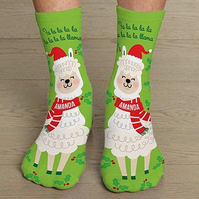 Fa La La Llama Socks