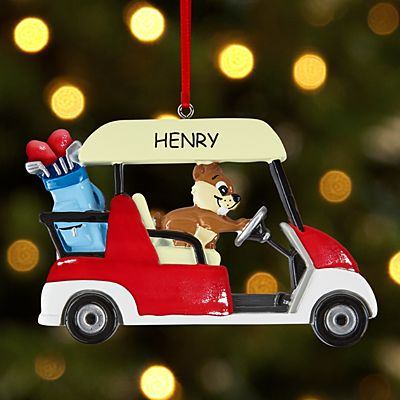 Gopher the Golfer Ornament