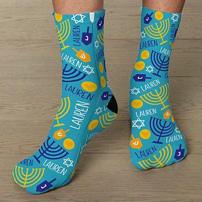 Hanukkah Socks