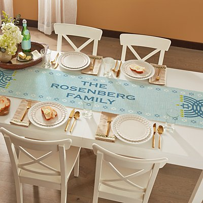 Happy Hannukkah Table Runner