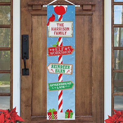 Holiday Home Door Banner