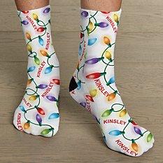 Holiday Lights Socks