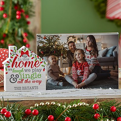 Jingle All The Way House Frame