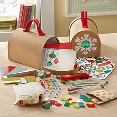 Kid Made Modern Design Your Own Holiday Card Kit