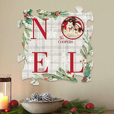 Noel Photo Mini Puzzle 4 Piece Set