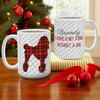 Perfectly Plaid Pet Mug
