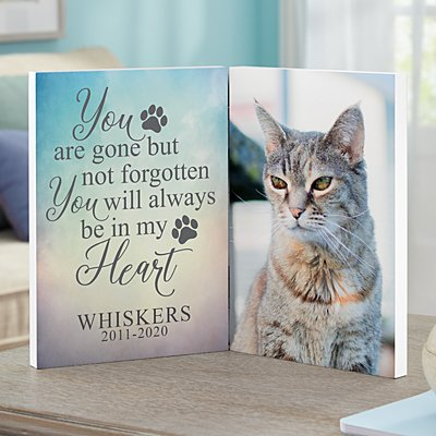 Pet Memorial Photo Panel