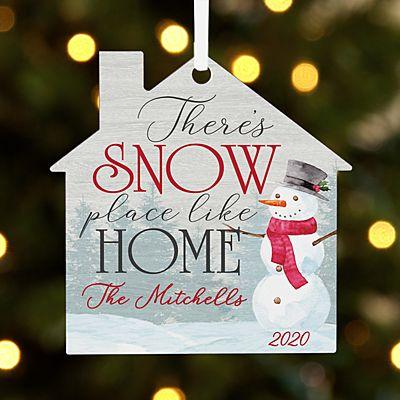 Snow Place Like Home House Ornament