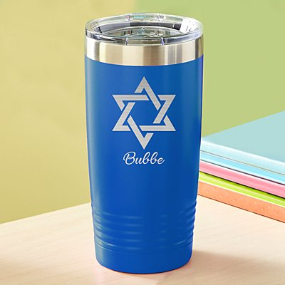Star of David Insulated Tumbler