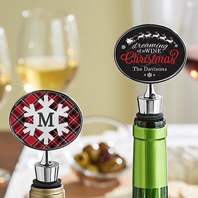 Christmas Wine Stopper