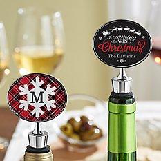 Christmas Wine Stopper