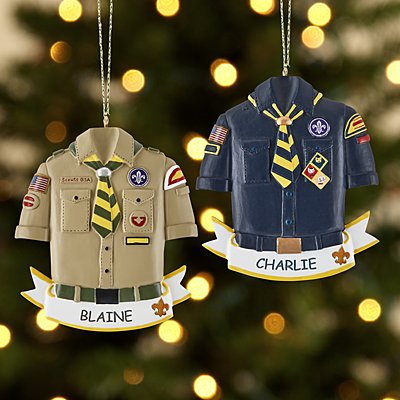 Cub Scout and Boy Scouts of America Ornament