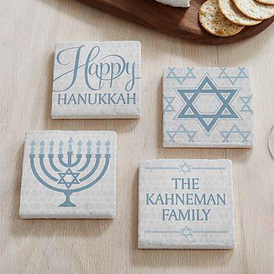 Happy Hanukkah Coasters