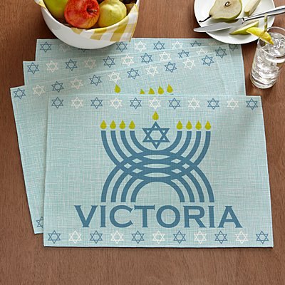 Happy Hanukkah Placemat