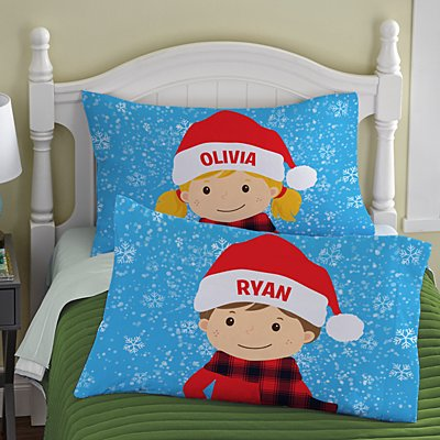 Just For Me Holiday Pillowcase