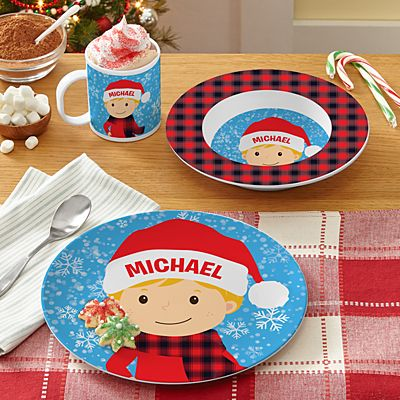 Just For Me Holiday Tableware