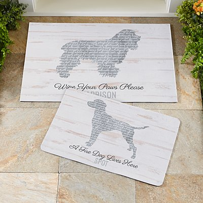Life is Better with a Dog Doormat