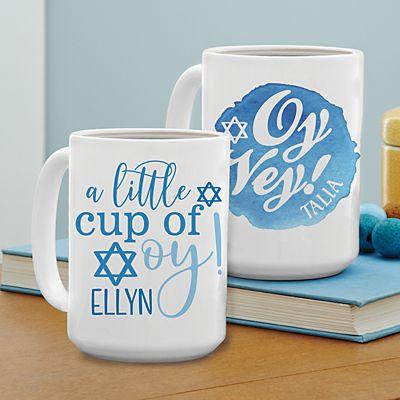 Oy Vey! Hanukkah Mug
