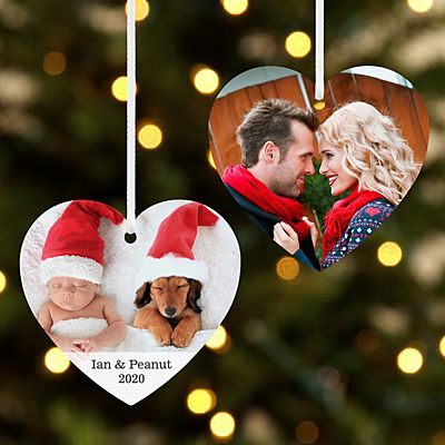 Picture Perfect Photo Heart Ornament