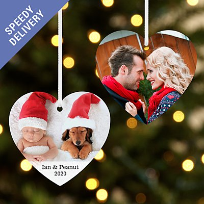 Picture Perfect Photo Heart Bauble