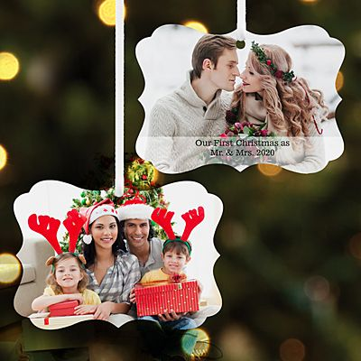 Picture Perfect Photo Scroll Ornament