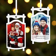Picture Perfect Photo Sled Ornament