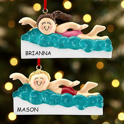 Super Swimmer Ornament