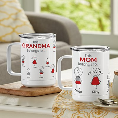 Family Belonging Insulated 15oz Mug