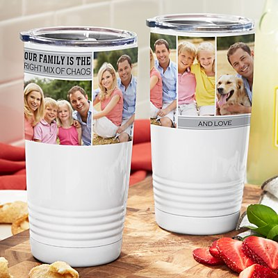 Memories Shared Insulated Photo Tumbler