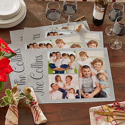 Create Your Own Photo Placemat