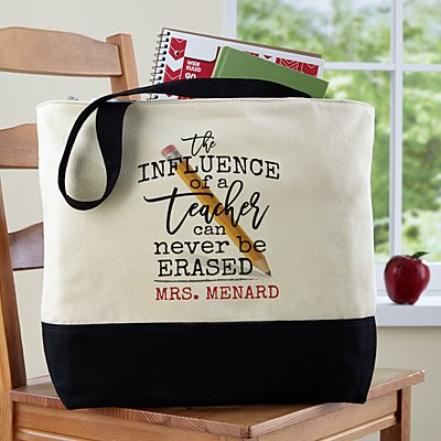 A Teacher's Influence Tote Bag