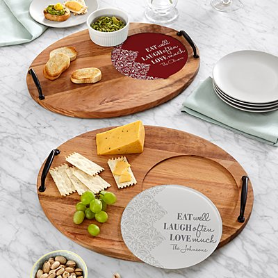 Eat Laugh Love Entertaining Trivet Set