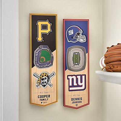 NFL/MLB Stadium View 3D Sports Banner