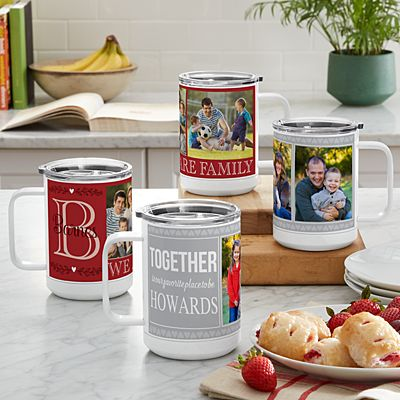 Photo Memory Collage Insulated 15 oz. Mug