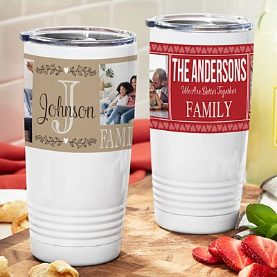 Photo Memory Collage Insulated Tumbler