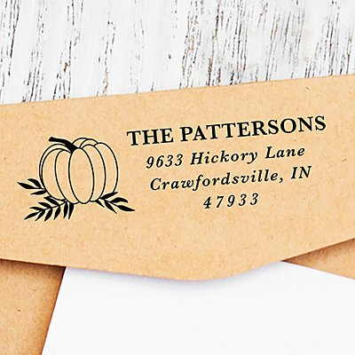Autumn Pumpkin Self-Inking Stamp