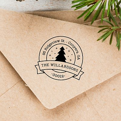 Merry Christmas Self-Inking Stamp