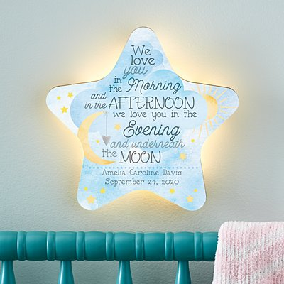 Stephen Joseph® Love You Always Star Nightlight