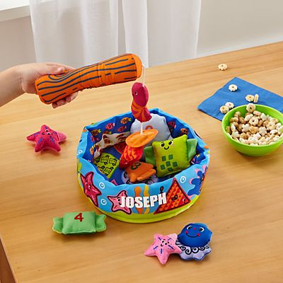 Melissa & Doug® Fish and Count Plush Game