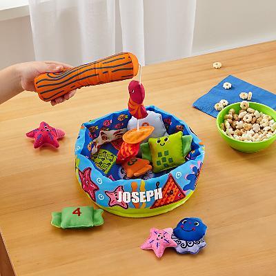 Melissa & Doug® Fish and Count Plush Game