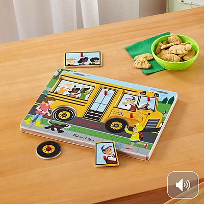 Melissa & Doug® Singing Wheels on The Bus Puzzle